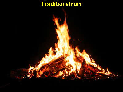 Traditionsfeuer